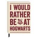 Harry Potter A5 Notebook Hogwarts Slogan Half Moon Cancelleria