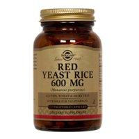 Solgar Red Yeast Rice 600 mg Vegetable Capsules