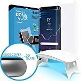 Dome Glass Verre Trempé Galaxy S 8 - écran Protecteur Vitre, Anti Rayures, sans...