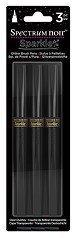 Spectrum Noir 3 PC Sparkle Glitter Brush Pen Clear Overlay by Spectrum Noir Glitter-overlay