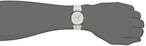 Swatch Damen-Armbanduhr Snowshine Analog Quarz GE250 -