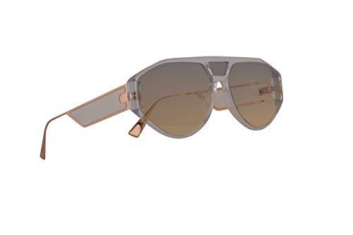 Dior Christian DiorClan1 Sonnenbrille Crystal Mit Grauen Gläsern 61mm 9001I Clan 1 Clan1