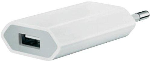 5 Steckdose Adapter (Oramics USB Ladekabel Datenkabel und Netzteil für iPhone 5 G, iPod Touch 5G, iPod Nano 7G)