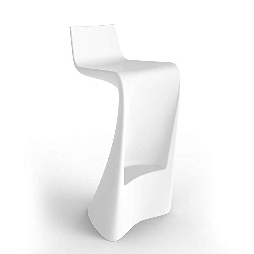 Vondom Wing stool for outdoor white