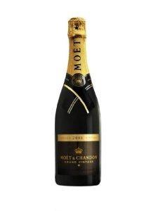 Moet and Chandon Grand Vintage Brut Champagne 2003 75 cl