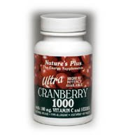 Natures Plus ULTRA canneberge 1000 MG comprimés 90
