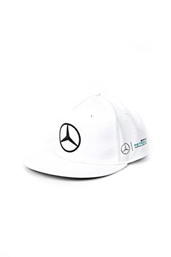 Mercedes AMG Petronas Gorra para Hombre MAMGP, Modelo Hamilton, Visera