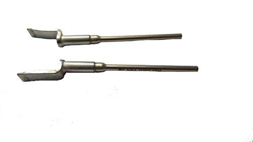 Ersa 0452EDLF060 Ersadur Lot de 2 pointes à dessouder pour pince à dessouder 40 ou Chip Tool pour SOIC 8