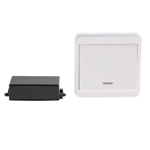 Baoblaze Empfänger Sender Universal Fernbedienung Schalter 433 MHz AC85-250V Drahtlose Fernschalter Relais Modul