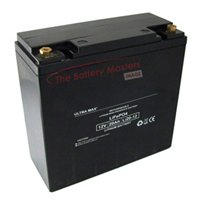 ULTRA MAX LI20-12, 12v 20Ah LITHIUM -ION BATTERY / LiFePO4 BATTERY FOR MOBILITY SCOOTER, ELECTRIC VEHICLES ETC
