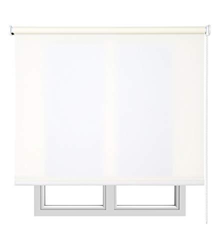 Estores Basic- Enrollable Traslúcido ,  Crudo, 90x250 cm