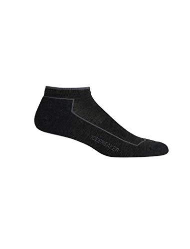 Sport Lite Socken (Icebreaker Herren Merino Lifestyle Cool Lite Low Cut, Herren, Lifestyle Cool Lite Low Cut Socks, Jet Heather/Timberwolf, Large)