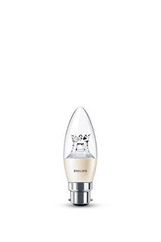 Philips Warmglow Ampoule LED avec culot 230 V B22 6W Blanc chaud, B22, 6 wattsW 230 voltsV