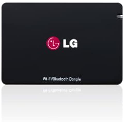 LG AN-WF500 - Adaptador Dongle (Wi-Fi, Bluetooth, USB), color negro