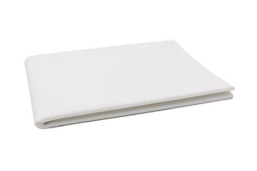 Zollner® Wasserdichte Molton/Betteinlage/Inkontinenz-Matratzenauflage weiß, Größe ca. 150x90 cm, in weiteren Größen erhältlich, vom Klinikspezialisten