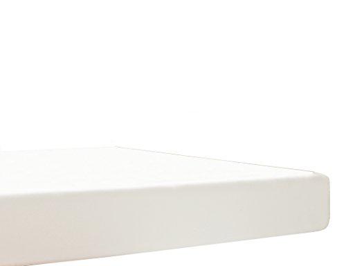 Blanc des Vosges Uni Jersey Drap housse extensible Coton Blanc 70x190 cm à 80x200 cm