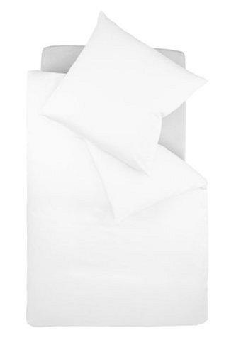Galleria fotografica fleuresse colours 9100-1000 Lenzuola (copripiumino + federa) 100% cotone (satin di cotone makò), con chiusura lampo, 135x200 + 80x80 cm, colore: Bianco