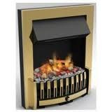 Dimplex DNV20BR Opti-Myst Inset Electric Fire, Brass
