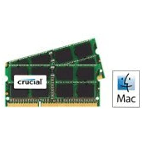 16GB Kit ( 2 x 8GB ), 204-pin SODIMM, DDR3 PC3-12800 memory module for Apple iMac, Macbook Pro and Mac mini ( for all Mac made from year 2012 )