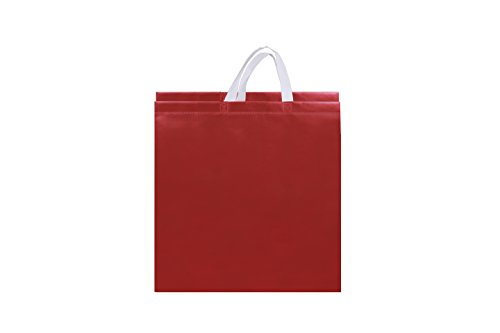Nature's Bag Red Eco Friendly Shopping Bag Pack Of 10