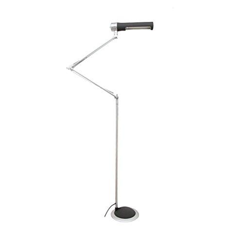 Justierbares Halogen-licht ($stehlampe 6W LED-Fußboden-Licht, dimmable justierbare faltende ultra-dünne, justierbarer Arm für das Lernen des Schlafzimmer-Büro-Schlafsaal-Hotel (Farbe : A))
