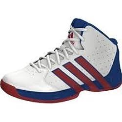 adidas Performance - Zapatillas de baloncesto para niño weiß / rot / blau, color, talla 29
