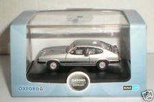 oxford strato silver ford capri mkIII car 1.76 railway scale diecast model