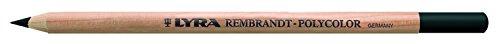 Lyra 2000199 Rembrandt Polycolor Künstler-Farbstifte, Holz, schwarz weich, 17,8 x 4,8 x 1,7 cm