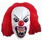 Snarling Terror Clown Latex Halloween Adult Mask (máscara/careta)