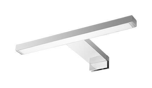 Acb Grupo Daviu - Aplique de baño tipo pinza Led 5 Watios, colección Flat 16/3202-31. Color Cromo brillo.