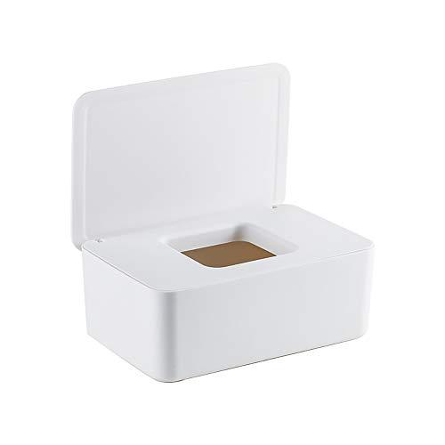 TONGXU Caja de Toallitas Húmedas para Bebé Caja de Desinfección Multifuncional PP Caja de Pañuelos de Papel de Estilo Japonés