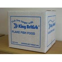 PET-854210 King British tropische Fische Flockenfutter (6 kg)