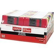 Staples 50/Pack 3.5 in. 1.44MB Multi-Colored Floppy Diskettes, PC/IBM Formatted