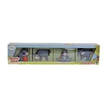 WINNIE L'OURSON - Pack 4 figurines Bourriquet 5 cm