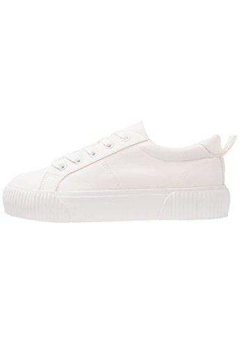 Even&Odd Sneaker Low für Damen - Textil Schnürschuh - Sportliche Damenschuhe in Weiß, Größe 36