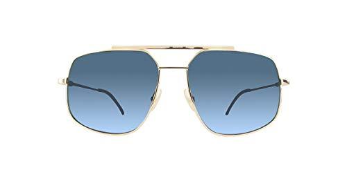 Fendi Herren FF M0007/S KU 000 58 Sonnenbrille, Rose Gold Blue