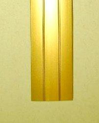 1 Übergangsprofil gebohrt für Laminat & Parkett in Gold von IHK - TapetenShop