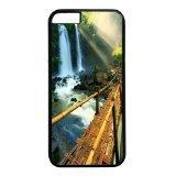 iPhone 6Hülle, iPhone 6Fällen–Bambus Brücke Polycarbonat Hard Case Back Cover für iPhone 6schwarz (Bambus-brücke)