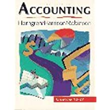 Accounting: Chapters 13-27