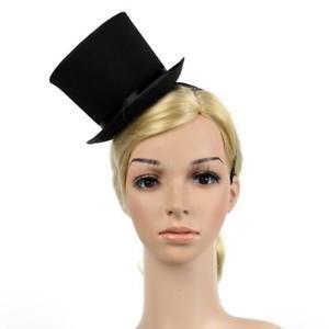 Buy Tradico  Mini Top Hat Woman Girls Fascinator Headband Party Fancy Dress  Headwear on Amazon  24aaf73fb6f