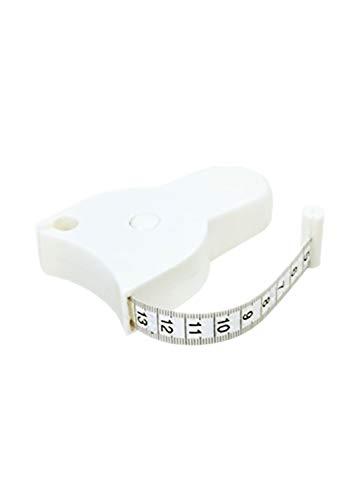 Nastro Misuratore Corporeo - Misura del Corpo Sana Misurazione del Grasso del Righello Misurazione del Corpo del Grasso Fascia di Fitness Retrattile