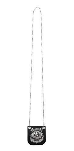 Halskette Polizei Kostüm Abzeichen - Boland 64333 Halskette Abzeichen Polizist, Mehrfarbig