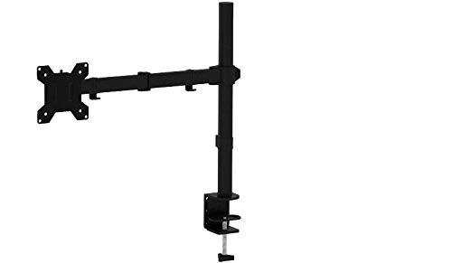 """BONTEC 13""""-32"""" Monitor-Tischhalterung für LED und LCD Monitor Schreibtisch Monitorständer neigbar 180° schwenkbar 360° höhenverstellbar 10 kg (1 Monitor)"""