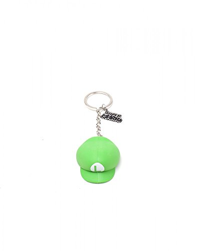 Nintendo - Luigi Odyssey Mütze - Schlüsselanhänger | 100% Gummi | Offizielles Merchandise (Retro-videospiel-t-shirt)