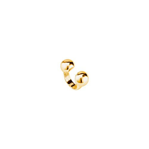 UNO DE 50 Zen Anillo de Mujer Baño de Oro Talla L