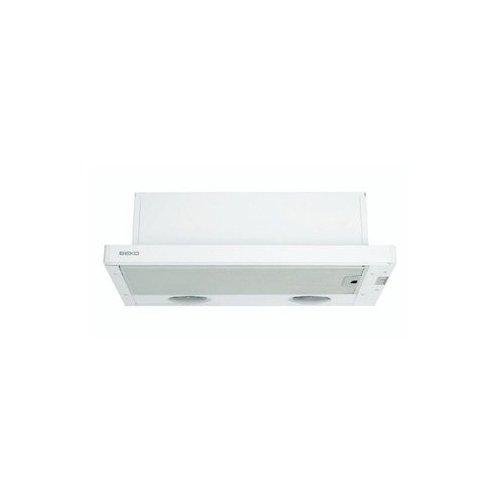 Beko CTB 6407 W Semintegrada (extraíble) Blanco 280m³/h - Campana (280 m³/h,...