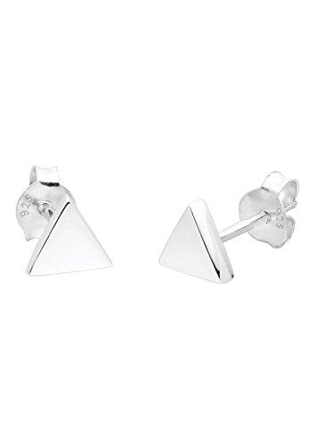Elli Damen-Ohrstecker Dreieck Trend 925 Silber - 0305252013