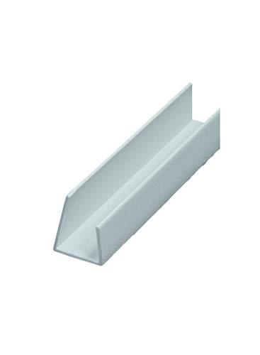 50 x PVC Einfassprofil 12,5 mm ungleichschenklich 250 cm = 125 lfdm GKP Gipskartonplatte Trockenbauprofil Kantenprofil Einfaßprofil 12,5mm