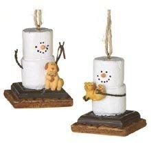 Midwest-CBK S 'mores W/Puppy & Kitten Ornaments Set von 2