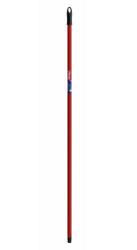 Vileda - Palo universal para fregonas, 140 cm de longitud, diseño de anclaje universal, color rojo